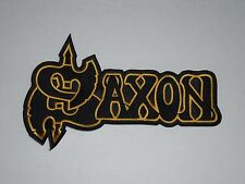 SAXON NWOBHM BIG EMBROIDERED PATCH