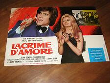 Fotobusta,1970,LACRIME D'AMORE MAL DEI PRIMITIVES SILVIA DIONISIO MUSICA