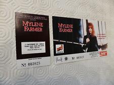 🎶 Mylène Farmer - Billet de Concert - En Concert 89 🎶