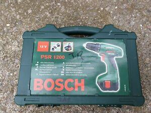 Carry Case only for Bosch PSR 1200 Cordless Drill Driver Kit 12v nicd 1440 14.4v