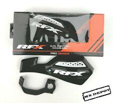 RFX PRO SERIES VENTED MX HANDGUARDS  BLACK MOTOCROSS KAWASAKI KXF250 KXF450