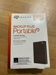 4TB Seagate Backup Plus Portable USB 3.0 Portable 2.5 External Hard Drive BLACK