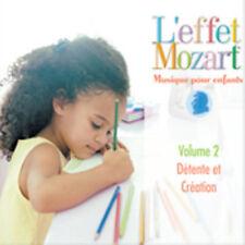 L'Effet / Mozart / C - Musique Pour Enfants 2: Detente Et Creation [New CD]