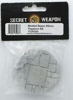 Secret Weapon BFS6002 60mm Flagstone 02 (Beveled Edge) Round Base Stone Path