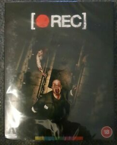 Rec Blu-ray Special Edition w/ Slipcover Brand New Sealed Arrow Video