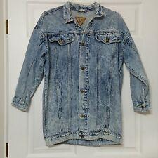 LL II Men's Button Down Denim Jean Jacket ~ Sz M ~ Blue ~ Stonewashed