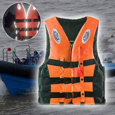 Kid Adult Life Vest Jacket Fishing Watersport Kayak Buoyancy Aid Sailing S-3XL