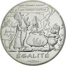 [#461444] France, 10 Euro, Egalité, Druide, 2015, SPL, Argent