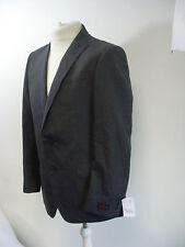 """Simon Carter Grey Check Slim Fit 2 Piece Suit 40"""" Chest W34 L32 Box1449 d"""
