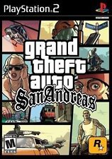 Grand Theft Auto: San Andreas [PlayStation 2 PS2, NTSC, GTA Rockstar Action] NEW