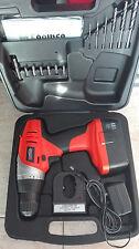 Taladro atornillador a bateria 18v Mt Power con accesorios en maleta