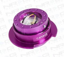 NRG Steering Wheel GEN 2.5 QUICK RELEASE Kit (PURPLE Body / PURPLE Ring)