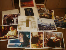 Titanic Presentation Box Set VHS & DVD & 35mm Film Cells & 8 Card stills