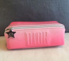 """Genuine DIOR Beauty Gradient Pink Cosmetic Bag """"Beautiful"""" Colour NEW"""