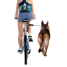 2-in-1 Bike Leash - Removable Detach to Run, Walk, Pet Dog Lead.  Cycle Bicycle