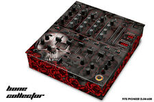 Skin Decal Wrap for PIONEER DJM-600 DJ Mixer CD Pro Audio DJM600 Parts BONES BLK
