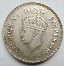 British India 1938-B Rupee George VI Bombay Mint