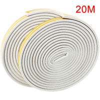 Soundproof Weather Stripping Door Kit 66FT Soundproof Anti-Collision Adhesive
