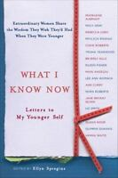 WHAT I KNOW NOW paperback book FREE SHIPPING Maya Angelou Madeleine Albright
