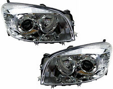 Pair of Headlights for Toyota RAV4 01/06-07/08 New Front Head Lamps 06 07 08