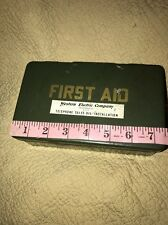 vintage western electric company first aid kit