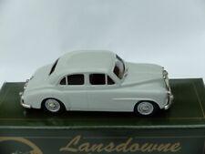LANSDOWNE 1/43 WHITE METAL MODEL - 1956 MG MAGNETTE Z SERIES - Pale Grey - MINT