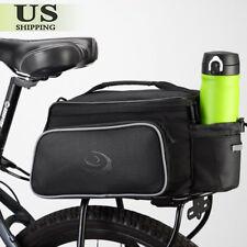 Waterproof Cycling Bicycle Bike Rear Seat Rack Storage Trunk Bag Handbag Pannier