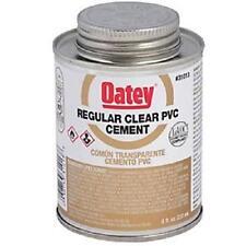 Oatey PVC Cement Low VOC Reg. Body Clear Gold 4 oz 31012