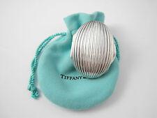 Tiffany & Co RARE VINTAGE Clam Groove Pill Box!