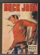 BUCK JOHN. Album relié n°82 - n°545 à 548 - IMPERIA 1982