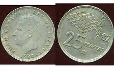 ESPAGNE  25 pesetas 1980 ( 81 )   ( bis )