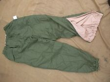 BRITISH ARMY UKSF RM ECW ECWCS PERTEX ARCTIC THERMAL desert od TROUSERS PANTS m
