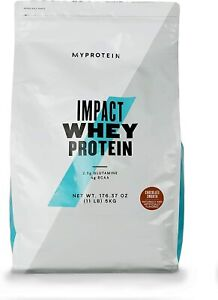 MY PROTEIN Impact Whey Protein Smooth Supplement, 5 kg, Chocolate Brownie