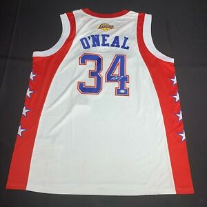 Shaquille O'Neal Signed 2004 NBA All Star Jersey PSA 9A24302 Shaq Autographed