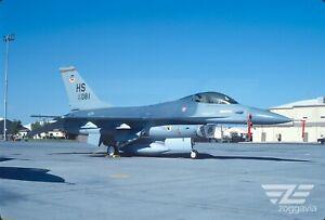 Original slide 83-1081 Lockheed F-16 U.S. Air Force, USAF, 1987