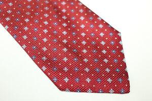 LUCA DELLA TORRE Silk tie Made in Italy F6512