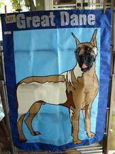 K84 Large Nylon Grate Dane Dog Flag 32 X 47