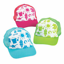 Fun Icon Trucker Hats - Apparel Accessories - 12 Pieces