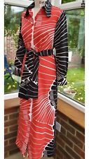 LANVIN  Paris Vintage Genuine Designer Long Maxi Dress , Size 12, Excellent