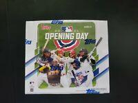 ⚾⚾ 2021 Topps Opening Day Baseball Hobby Box [36 packs] Factory Sealed ⚾⚾