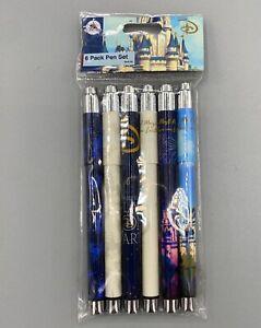 NEW 6 PACK Disney Parks Cinderella Castle Pen Set – Walt Disney World