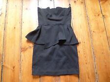 BNWT the kooples noir Mini robe, basque, 36, 6-8, bustier