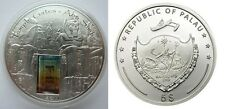 2011 Palau Large  Proof Color Silver $5 Temple Gates - ABU SIMBEL