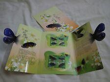 Taiwan 2011 Sp.558 Taiwan Butterflies Postage Stamps FOLDER A