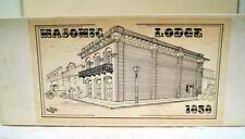 Ho Historical Scale Miniatures, Kit #ML-21, Masonic Lodge Kit