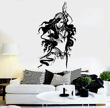 Vinyl Wall Decal Arabic Beautiful Woman Belly Dance Stickers Mural (ig4643)