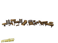 TTCombat Wargames Scenery Wild West - Furniture Pack