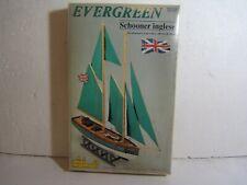 C. Mamoli British Schooner Yacht Fastnet Race Evergreen Wood Model Ship Boat Kit