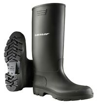 Dunlop Gummistiefel PVC Pricemastor STIEFEL hoch schwarz rutschfest wasserdicht 42