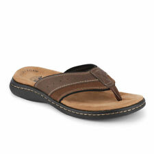 Dockers Mens Laguna Casual Comfort Outdoor Flip-Flop Thong Sandal Shoe